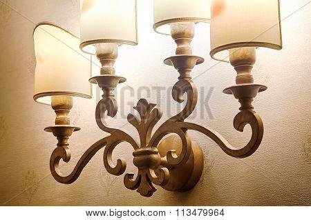 Beautiful lamp Baroque