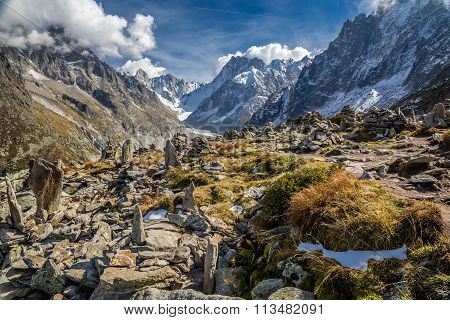 Mer De Glace Glacier From Le Signal Forbes-france
