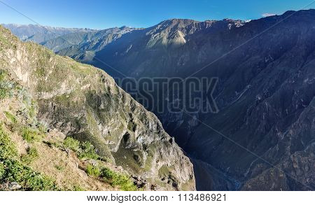 Colca Canyon View  From Condors Cross, Peru