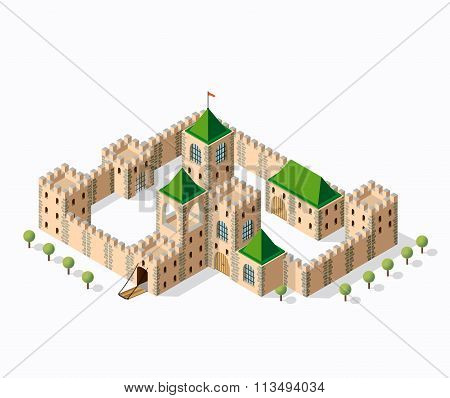 Medieval Fortress Fort