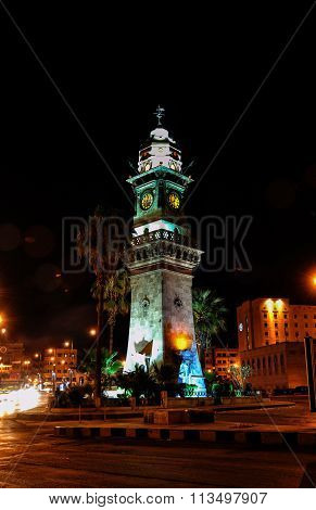 Aleppo clock tower