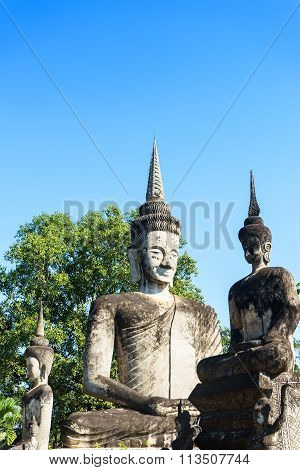 Buddha Image And Place Of Religion Art