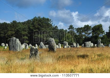 Carnac (brittany, France): Menhir