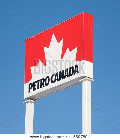 Petro Canada Sign
