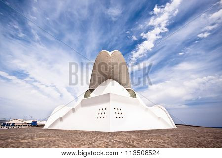 Tenerife Auditorium opera by Santiago Calatrava