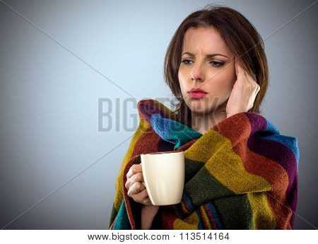 Young Woman Feeling Unwell
