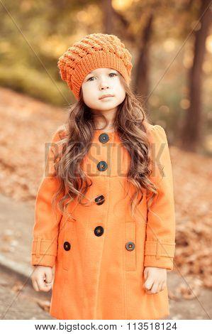 Cute kid girl