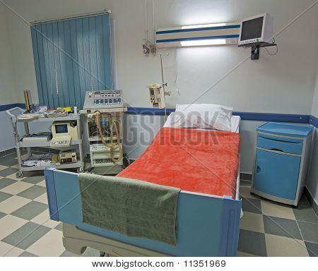 Icu Ward In A Medical Center