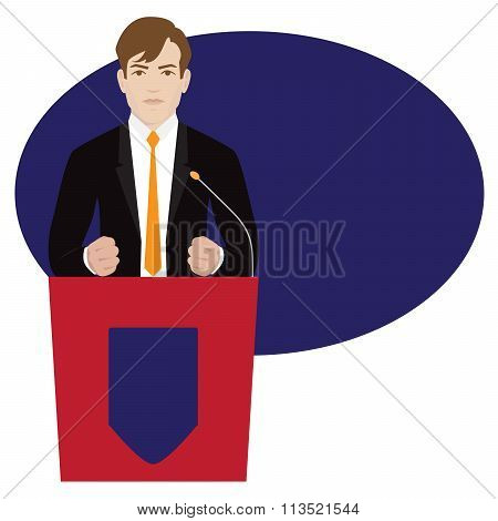 vector politician