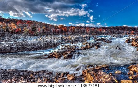 Great Falls Maryland Rapids And Waterfalls