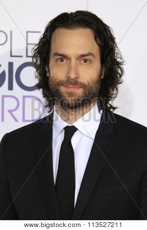 LOS ANGELES - JAN 6:  Chris D'Elia at the Peoples Choice Awards 2016 - Arrivals at the Microsoft Theatre L.A. Live on January 6, 2016 in Los Angeles, CA