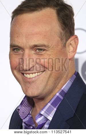 LOS ANGELES - JAN 6:  Matt Iseman at the Peoples Choice Awards 2016 - Arrivals at the Microsoft Theatre L.A. Live on January 6, 2016 in Los Angeles, CA