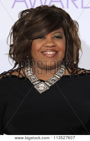LOS ANGELES - JAN 6:  Chandra WIlson at the Peoples Choice Awards 2016 - Arrivals at the Microsoft Theatre L.A. Live on January 6, 2016 in Los Angeles, CA