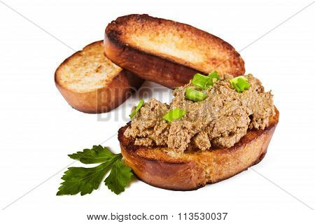 Sandwich With Liver Pate