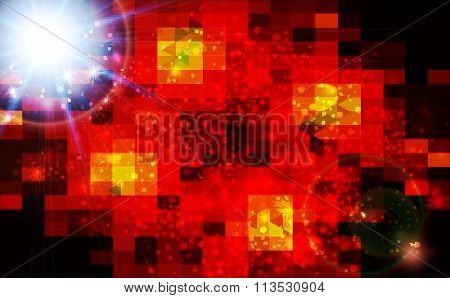Abstract   Bright Techno   Background .