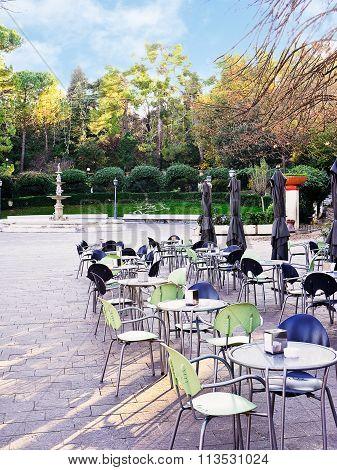 Public Garden Of Chieti (italy)