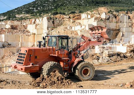 Marble Quarry Industrial