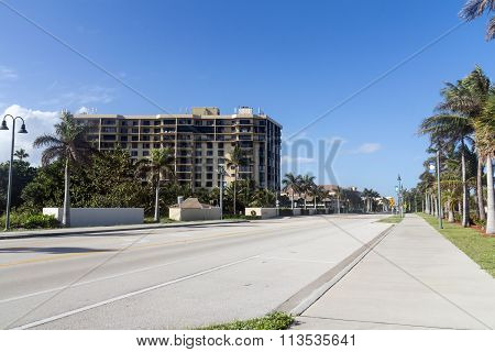 Fort Pierce A1A Road