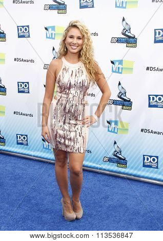 Haley Reinhart at the 2012 Do Something Awards held at the Barker Hangar in Los Angeles, USA on August 19, 2012.