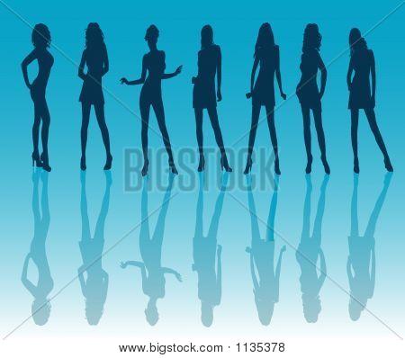 Sexy Girls -  Illustration