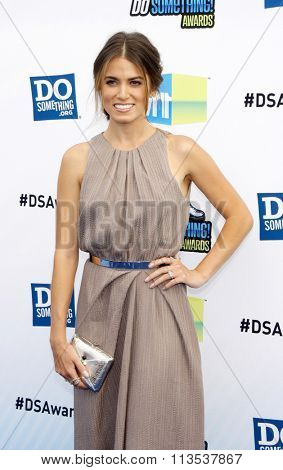 Nikki Reed at the 2012 Do Something Awards held at the Barker Hangar in Los Angeles, USA on August 19, 2012.