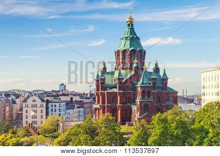 Uspenski Cathedral, Eastern Orthodox Cathedral, Helsinki