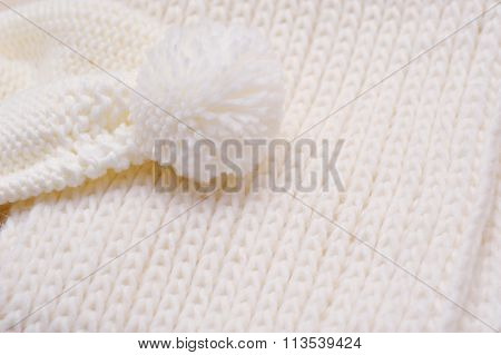 Background Of Swirling Light Knitted Thing Bubo