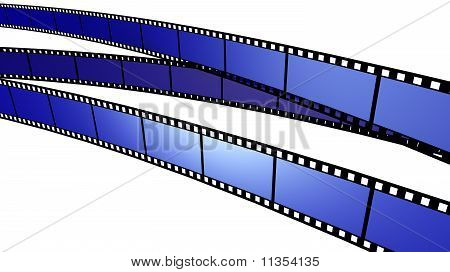Three blue Film