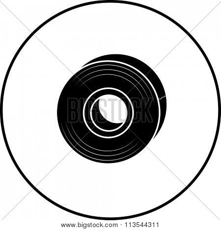 tape roll symbol