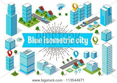 Blue City  Skyscraper