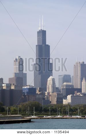 Skyline Of Chicago Soc02