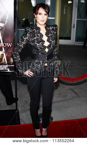 HOLLYWOOD, CALIFORNIA - September 3, 2009. Rumer Willis at the Los Angeles premiere of