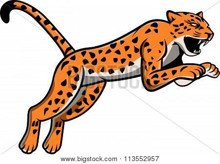 Leopard Illustration design