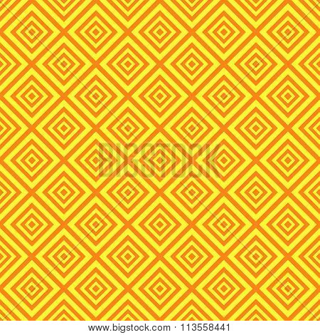 Baby different seamless pattern. Orange and yellow colors