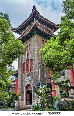 Hongde Tang Christian Protestant Church Duolon Cultural Road Hongkou District Shanghai China
