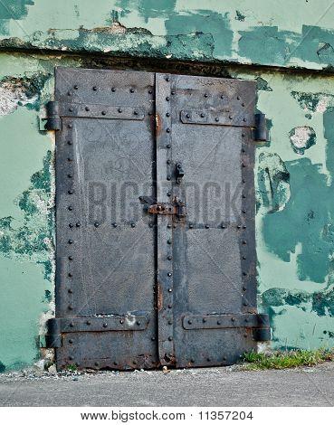Black Iron Doors