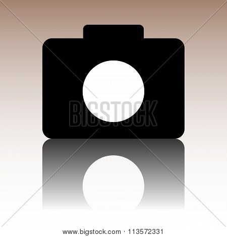 Vector camera icon