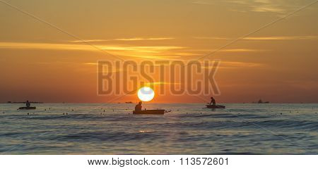 Fishermen set sail early marine livelihoods