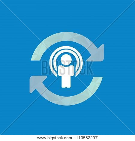 Synchronize User Icon, Update Icon With Man In The Center