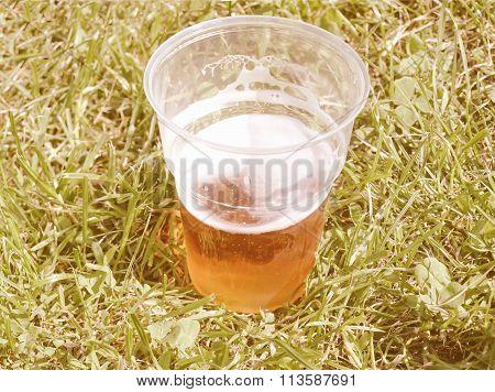 Retro Looking Beer