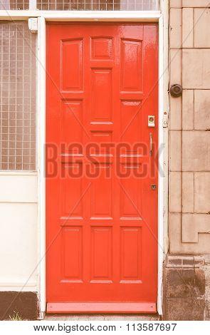 British Door Vintage