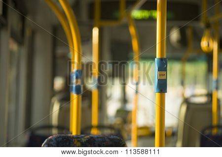 bus interrior