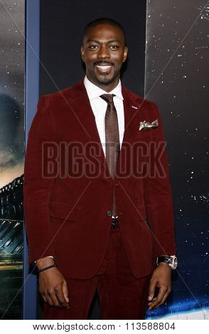 David Ajala at the Los Angeles premiere of