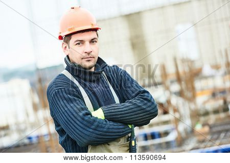 worker at building site