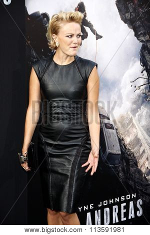 Malin Akerman at the Los Angeles premiere of