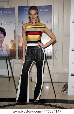 Katie Nehara at the Los Angeles premiere of