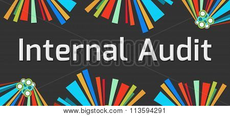 Internal Audit Dark Colorful Elements