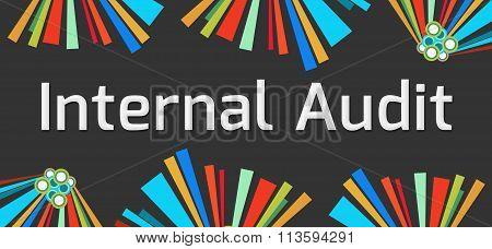 Internal Audit Dark Colorful Elements