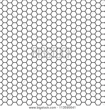 Abstract science hexagon background.
