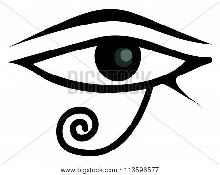 Egyptian Eye Of Horus. Eye of Ra.